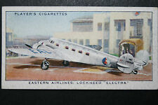 Eastern Airlines   Lockheed Electra   Original 1930's Vintage Card  VGC