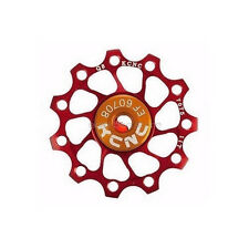 KCNC Jockey Wheel Pulley Ultra Light 11T Shimano Campagnolo SRAM BIKE - RED