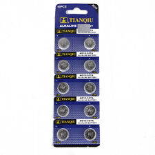 1 PACK x 1.5V AG13 LR44 SR44 L1154 357 A76 Button Cell Clock ALKALINE BATTERY