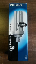 Philips Master PL-T 840/2pin 26w bulbs GX24d-3 coolwhite
