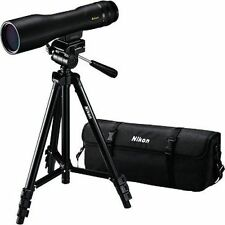 Nikon Prostaff 3 16-48x60 Straight Viewing Spotting Scope From Japan