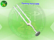 OR Grade 256C MEDICAL TUNING TUNNING FORK CHAKRA with Foot Stainless Steel