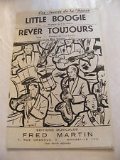 Partition Little Boogie Fred Martin Rêver Toujours Music Sheet