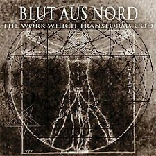 DAMAGED ARTWORK CD Blut Aus Nord: Work Which Transforms GodThem