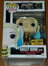 Funko Pop! Heroes Harley Quinn Gown #108 Suicide Squad Hot Topic Exclusive