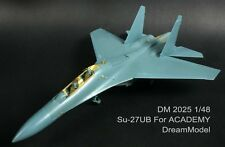 Dream Model 2025 1/48 Su-27UB Flanker Detail Up Etching Parts for Academy