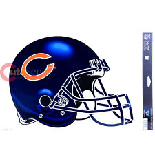 NFL Chicago Bears Window Clings Helmet Logo Decal 11x17 Auto Accessories