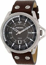 Diesel Men's DZ1716 Brown Leather Quartz Watch