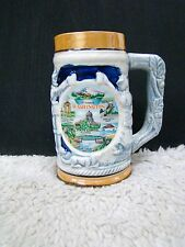 Vintage Washington State Beer Stein/Mug Picture of the Countryside/Mountains