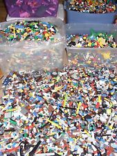 Bulk LEGO Lot 1/4 pound Bricks 100 MIXED Parts & Pieces lb Buy more & Save 113g