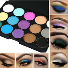 15 colors Pro EyeShadow Makeup Palette Cosmetic Eyeshadow Matte Glitter Cool