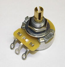 "CTS Split Shaft Audio Pot Potentiometer 250K Full Size NEW 3/8"" Short Full Size"