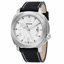 Anonimo Men's Sailor Swiss Automatic Black Leather Strap Watch AM200001002A01