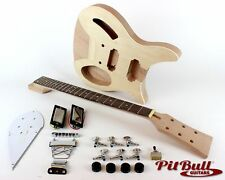 Pit Bull Guitars RC-1M Mahogany Electric Guitar Kit