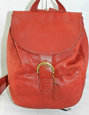VINTAGE COACH SOHO Large Backpack TOTE RED LEATHER MADE IN THE USA #4134   4