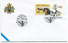 1996-07-06 San Marino 30° Federazione Italiana Sbandiratori ANNULLO SPECIALE