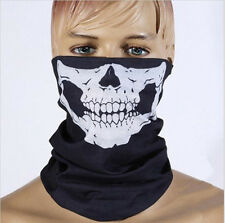 Skull Cycling Bike Neck Face Mask Veil Shield Kerchief Outdoor Sports Protection