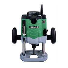 "Hitachi 3-1/4 HP Variable Speed Plunge Router with 1/2"" Collet M12VE New"