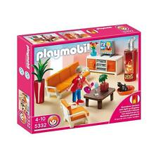 New! Playmobil 5332 Comfortable Living Room (Discontinued Model) Ages 4-10 Years