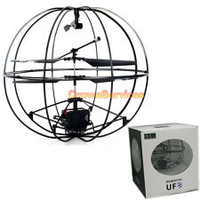 UFO Flying Ball 3 Channel 3CH Remote Control RC Helicopter with GYRO New in BOX