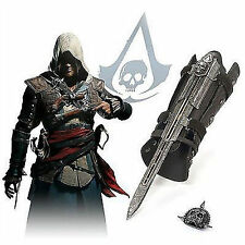 Cosplay Xmas Gift Assassins Creed 4 Black Flag Pirate Hidden Blade Gauntlet