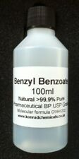 100ml Benzyl Benzoate 99.9%  Pure USP/ BP /Pharma Grade