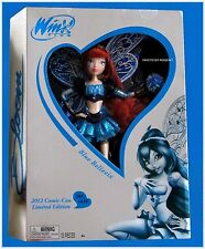 New Winx Club Doll BLUE BELIEVIX BLOOM #585 Comic Con 2012 LIMITED EDITION 11.5""