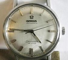 VINTAGE OMEGA SEAMASTER DEVILLE AUTOMATIC MEN'S WRISTWATCH WORKING