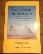 The Call of the High Plains CHARLES EDWARD HANCOCK Autobiography 1989 LOOK