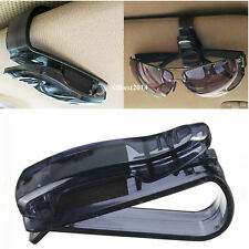 Easy Fit Car Sun Visor Glasses Spectacles Ticket Card Storage Holder Clip Mount