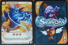 Seasons Board Game Promo Card - Air Elemental *NEW* - Asmodee