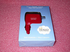 Halo Magic Power Cube 3000 Power Bank & Wall/Car Charger w/Micro USB Cable (RED)