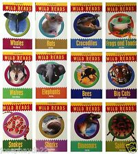 NEW x 12 Oxford WILD READS  Snakes Dinosaurs Sharks Bees Primary Key Stage 1 £48