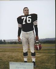 LOU GROZA CLEVELAND BROWNS THE TOE HALL OF FAME 1959 ORIGINAL 8 X 10 PHOTO 1