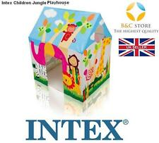 NEW INTEX 45642 Kids Jungle Playhouse Children Wendy House Zoo Cottage FUN BEST
