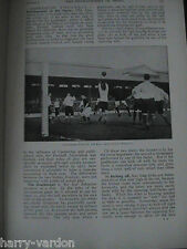 Association American International Rugby Football Antique Photo Articles 1911