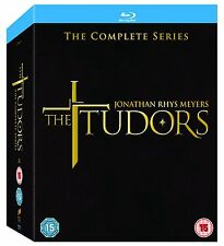 The Tudors The Complete Series Blu-Ray Box Set USED Free Ship