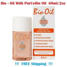Bio-Oil with PurCellin Oil Skincare for Scars, Stretch Marks 60ml FREE Shipping