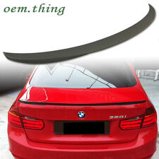 BMW F30 4DR Performance 328i 320i 3-Series Rear Trunk Spoiler Wing ABS 2016