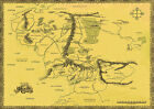 Lord Of The Rings ,Hobbit, War in Middle Earth Map Big Poster, various sizes