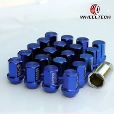 20pcs Blue Aluminum tuner M12x1.5 35mm for HONDA FORD TOYOTA KIA Wheel Lug Nuts