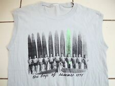Vintage Boys of Summer 1951 Surfboards 50's Sleeveless (Made in 80's) T Shirt L