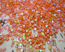 NEW DIY 3mm 2000pcs sparkling 5 star loose sequins Paillettes sewing Wedding