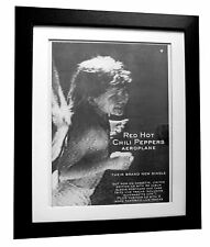 RED HOT CHILI PEPPERS+Aeroplane+POSTER+AD+ORIGINAL 1996+FRAMED+FAST GLOBAL SHIP
