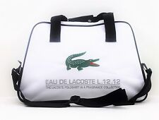 GENUINE NEW LACOSTE L.12.12. HOLDALL DUFFLE WEEKEND GYM SPORTS TRAVEL BAG MEN'S