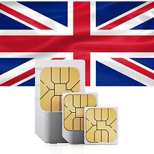 Großbritannien (England, Schottland & Wales) Daten SIM + 1000 MB für 30 Tage