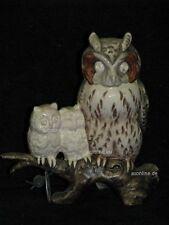 +# A010328_03 Goebel Archiv Muster Uhu Eule Kauz Familie Owl Foggy 38-153 Plombe