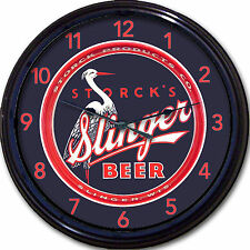 Slinger Beer Slinger WI Beer Tray Wall Clock Storck Products Ale Pilsner Lager