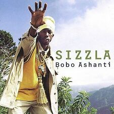 Bobo Ashanti by Sizzla (2000, Greensleeves Records) CD & PAPER SLEEVE ONLY