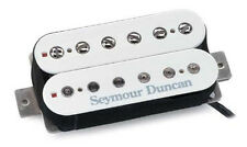 SEYMOUR DUNCAN SH-2 Jazz Model Guitar Pickup WHITE NECK FREE BEV OPENER KEY RING